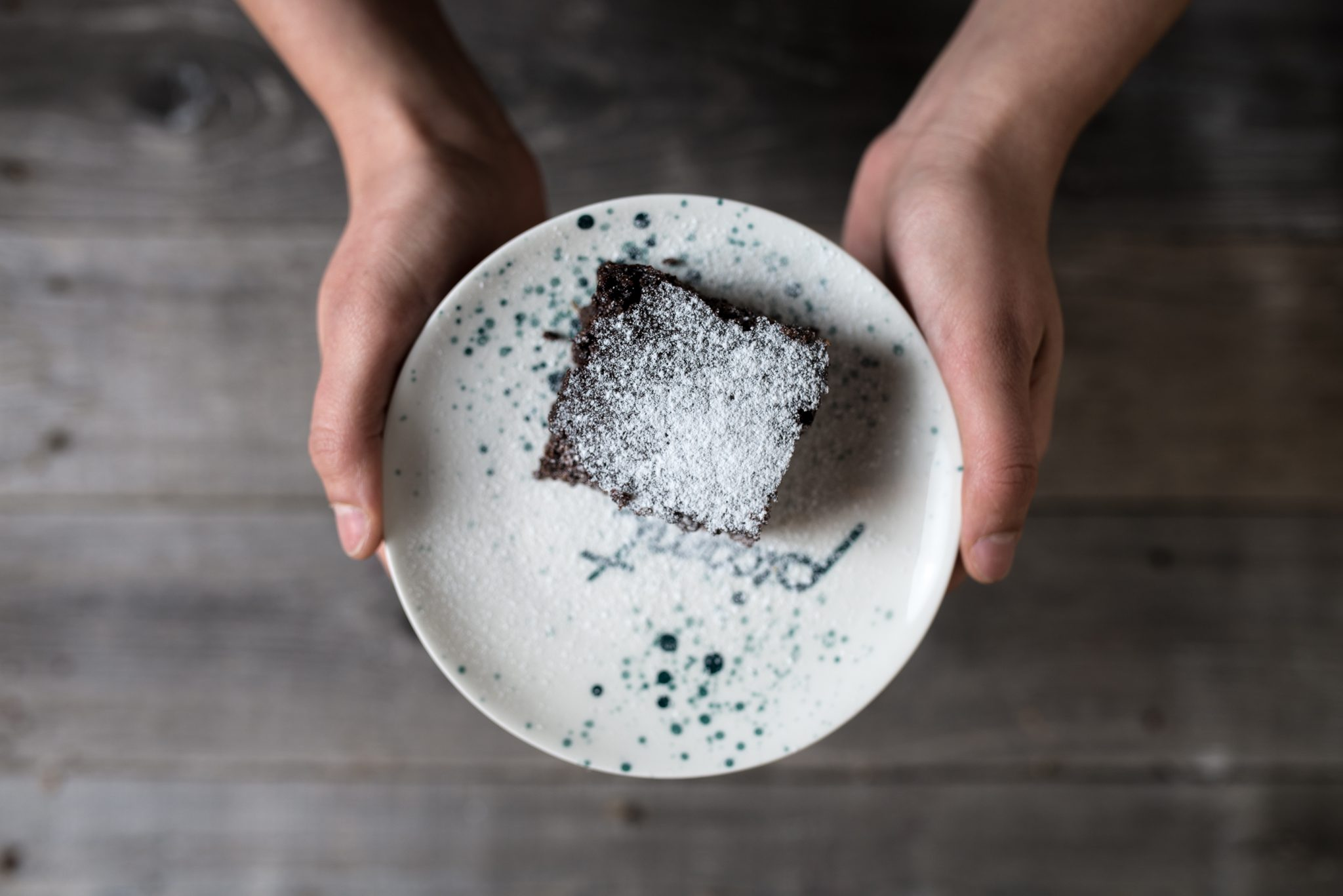 Brownies cu boabe de ienupăr