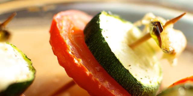 Mini-frigărui de legume