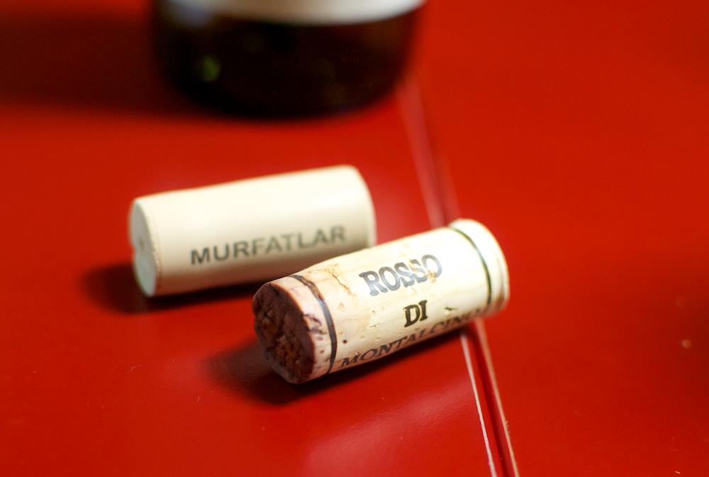 Blind Tasting (Rosso di Montalcino și Arezan)