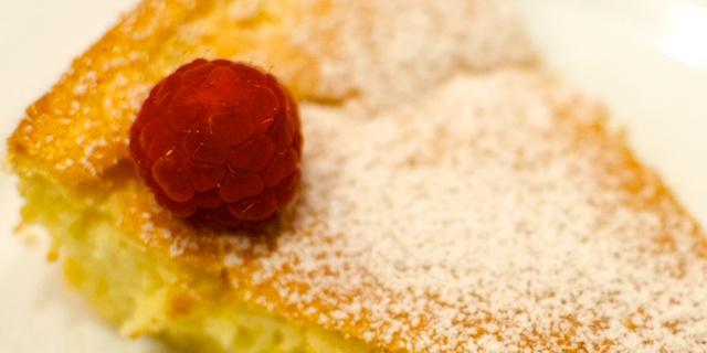 Prăjitură cu prosecco