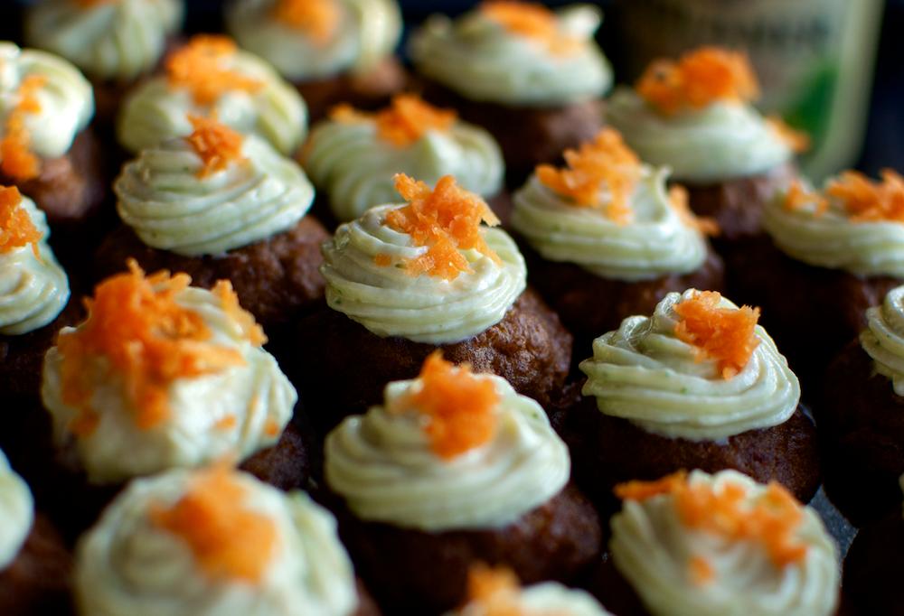 Cupcakes cu morcov