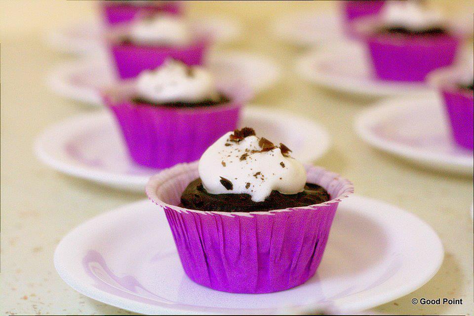 Cupcakes cu bezea