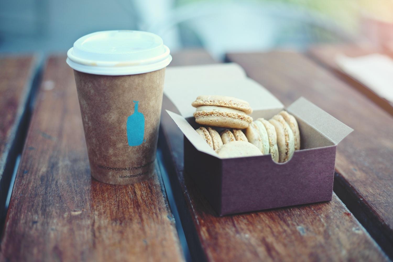 cafea macarons