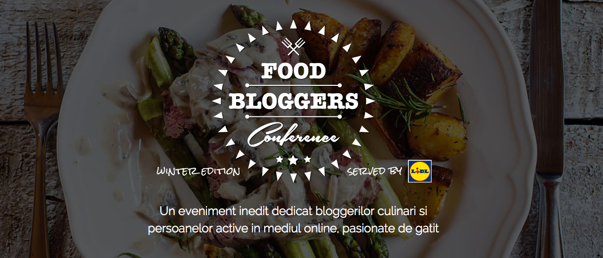 10 motive pentru care merg la Food Bloggers Conference